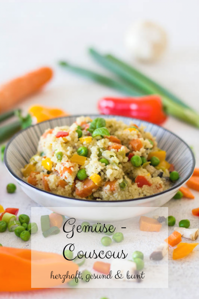 Gemüse Couscous - gesund & bunt