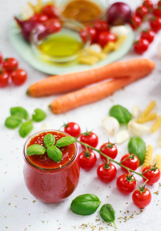 Die perfekte Tomatensoße - super einfach, super lecker