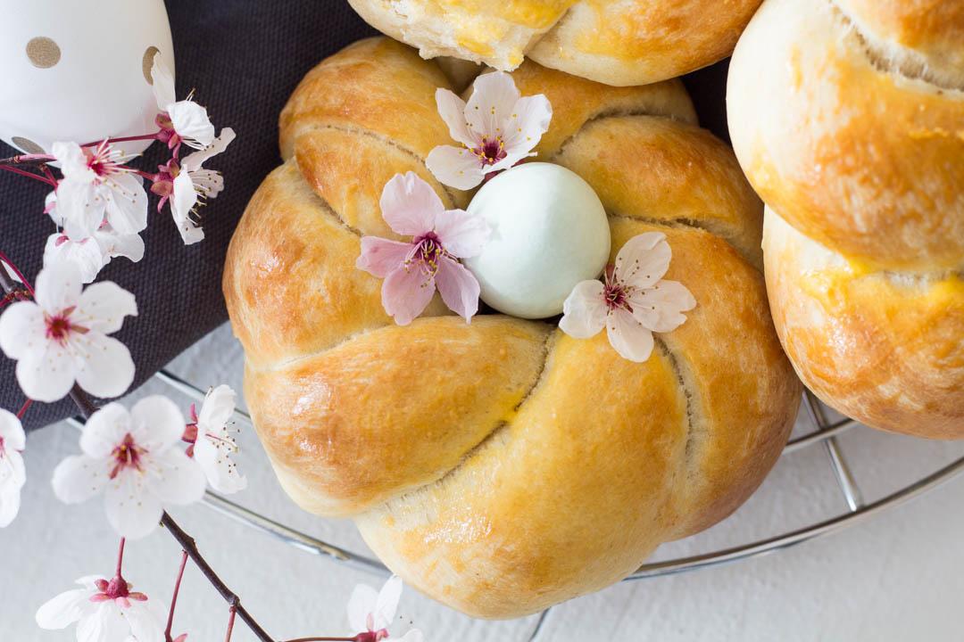 Hefekringel - leckeres Rezept für Ostern