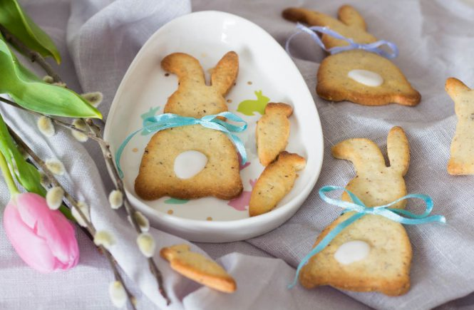 Zitronenkekse - süßes Gebäck zu Ostern