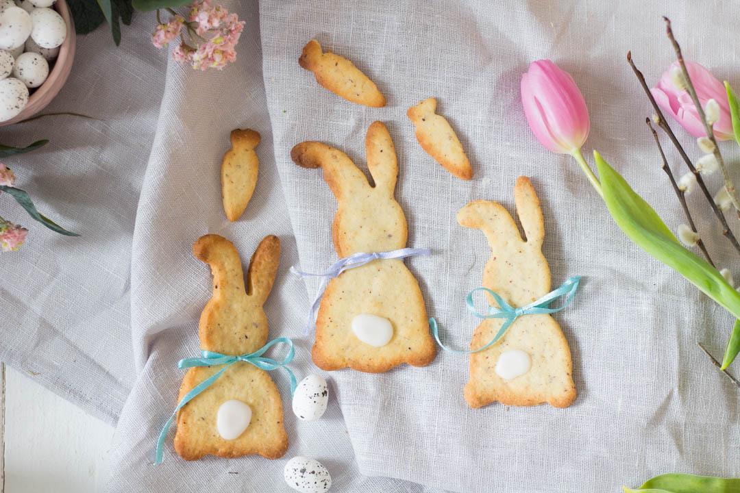 Hasen Kekse - süßes Gebäck zu Ostern