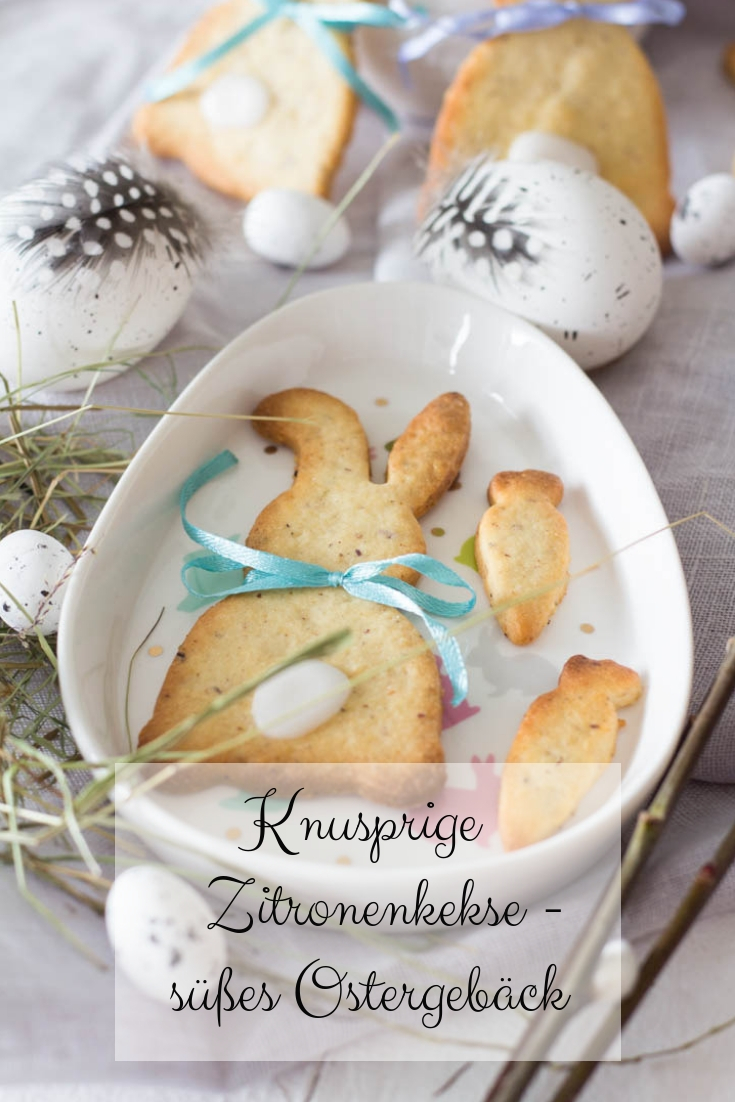 Zitronenekse - süßes Gebäck zu Ostern