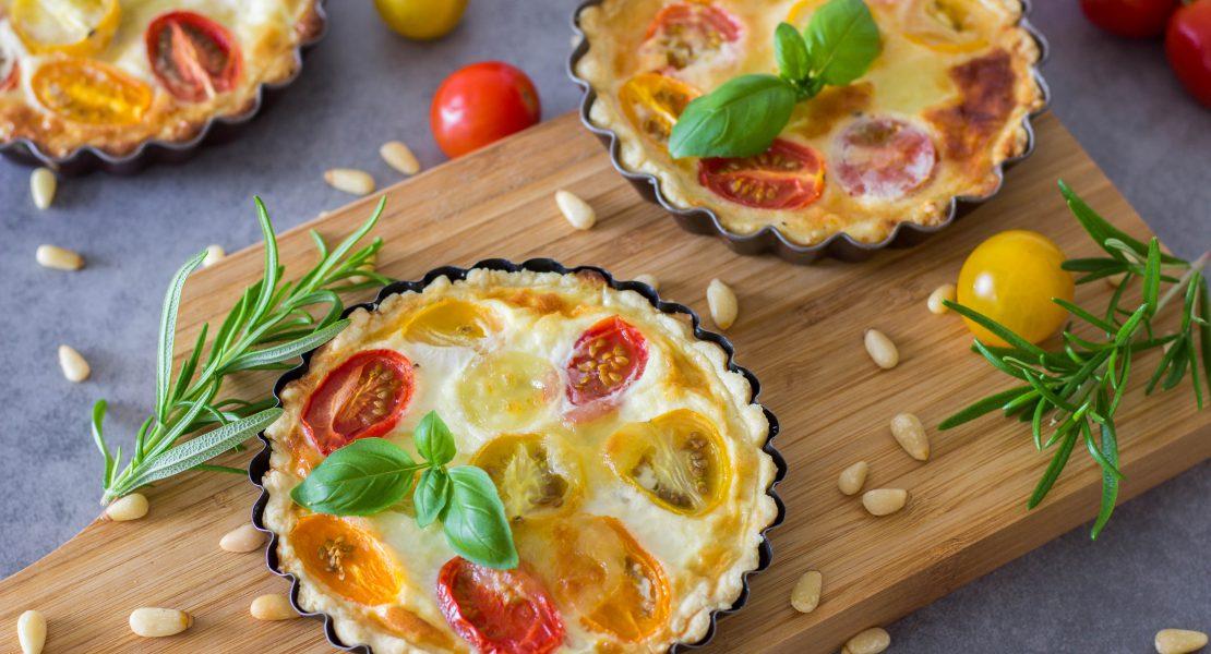 Tomaten-Mozzarella Tartelettes