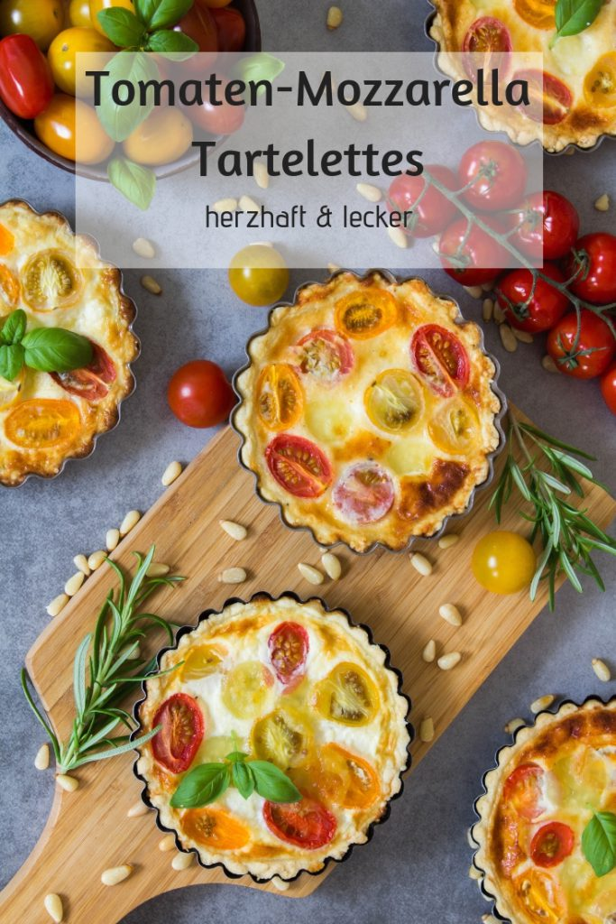 Tomate-Mozzarella Tartelettes
