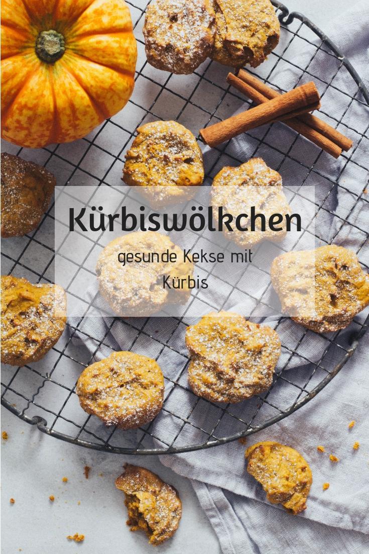 Kürbiskekse ohne Zucker - Die gesunde Zwischenmahlzeit für Kinder und Erwachsene. Leckere Idee für die Lunchbox. Lieblingszwei,.de