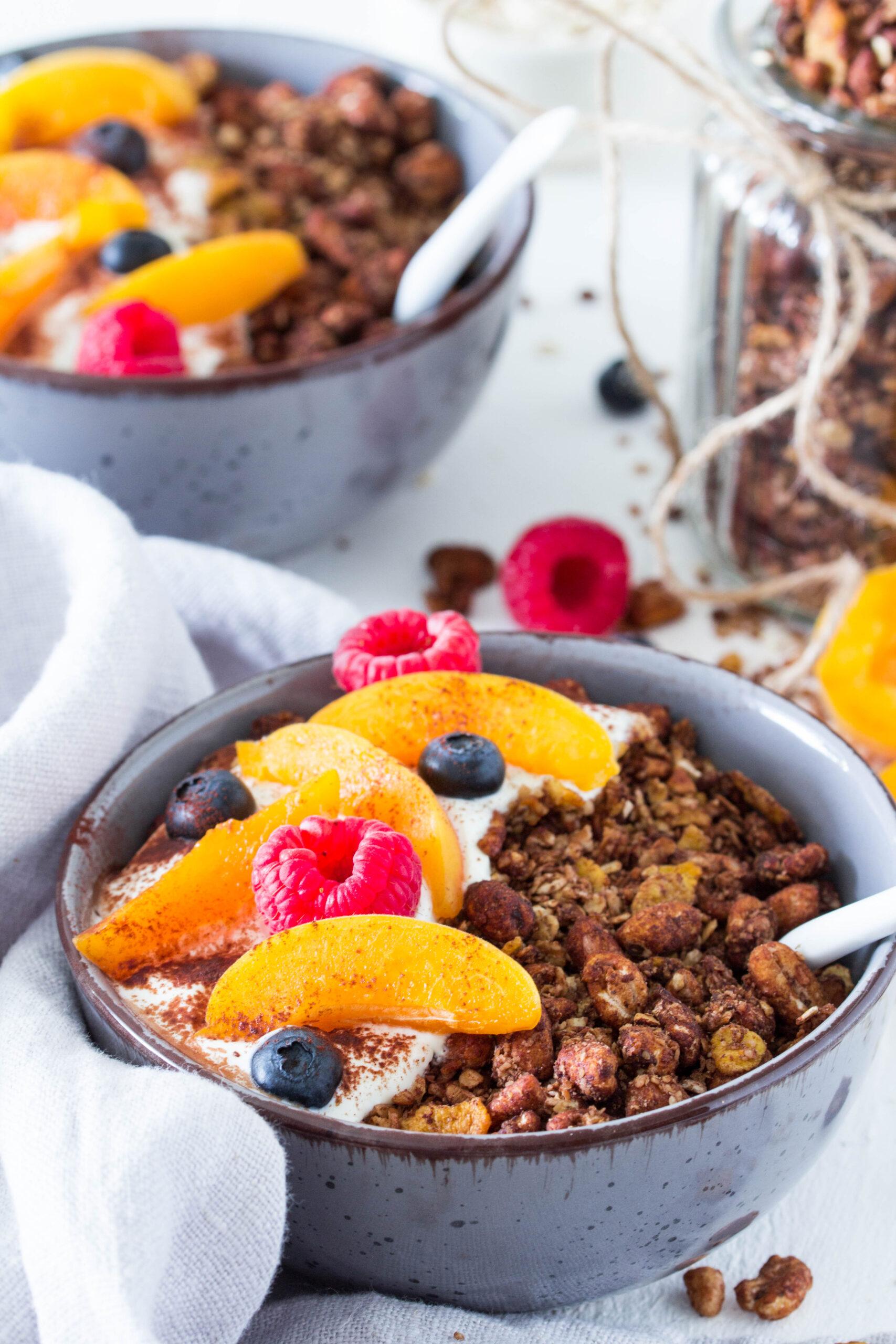 Schoko-Knuspermüsli - leckeres Frühstück für die ganze Familie