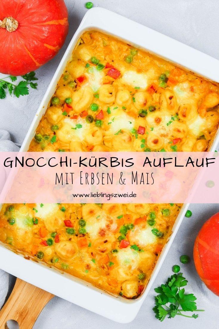 Gnocchi-Kürbis Auflauf - leckeres, gesundes Familiengericht