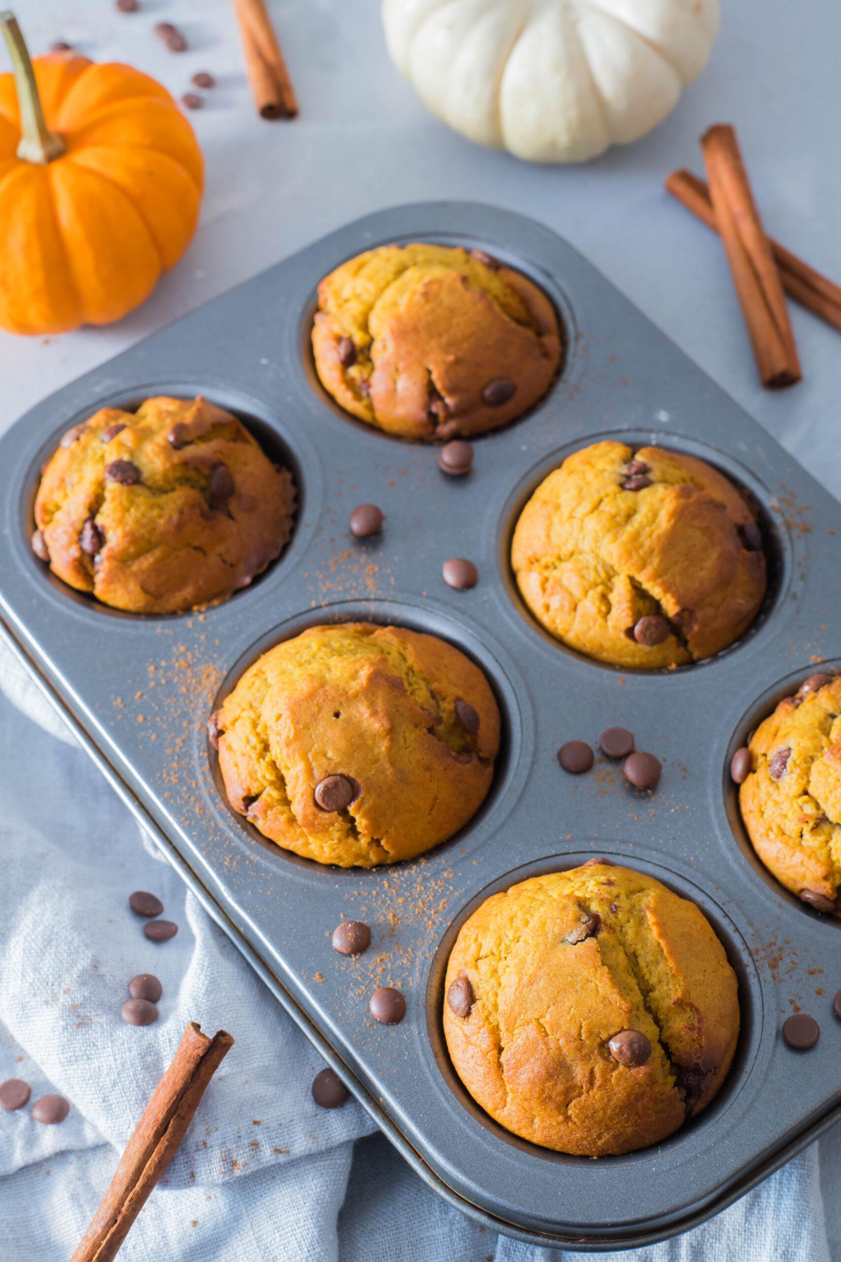 Kürbismuffins - süßer Snack für Kinder