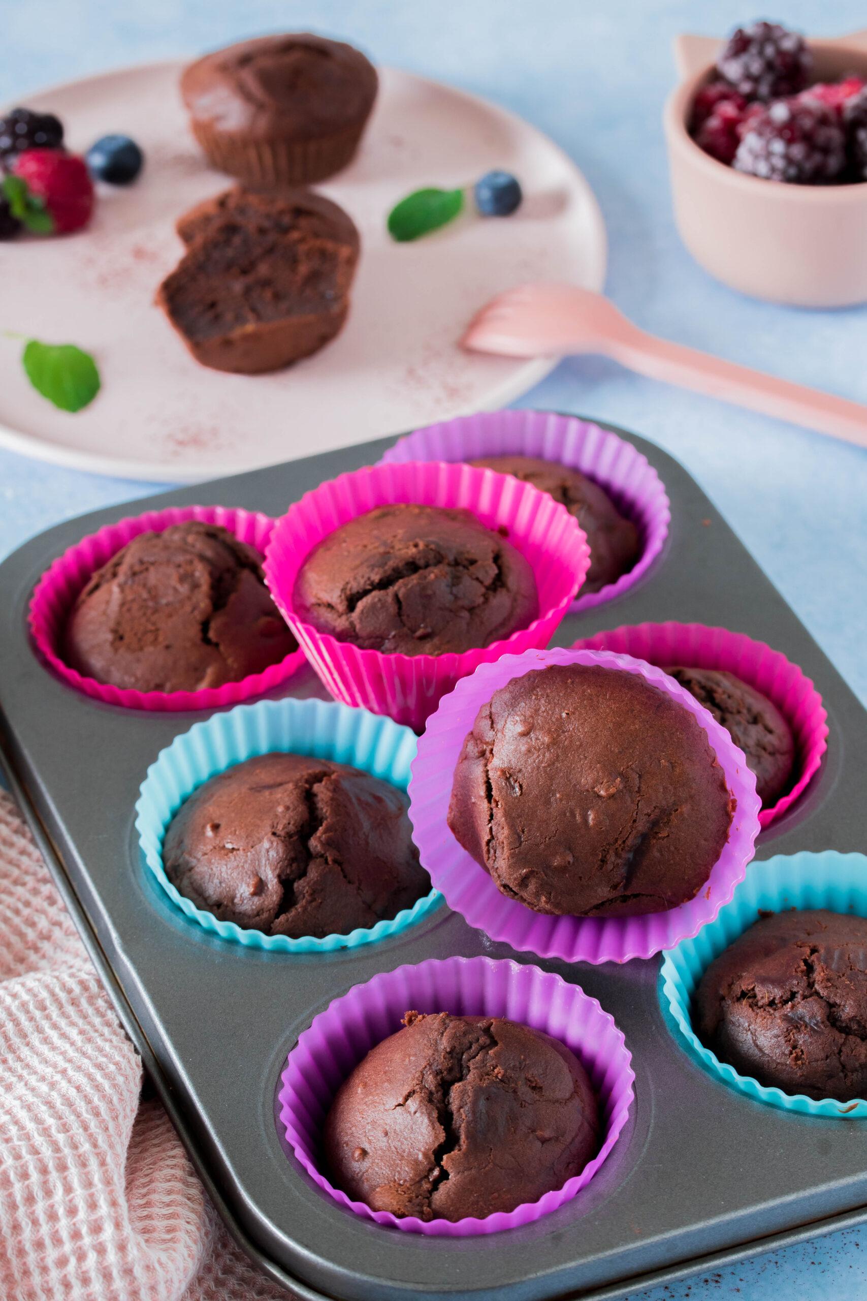 Leckere, gesunde Muffins für Kinder mit Süßkartoffel - idealer Snack für zwischendurch