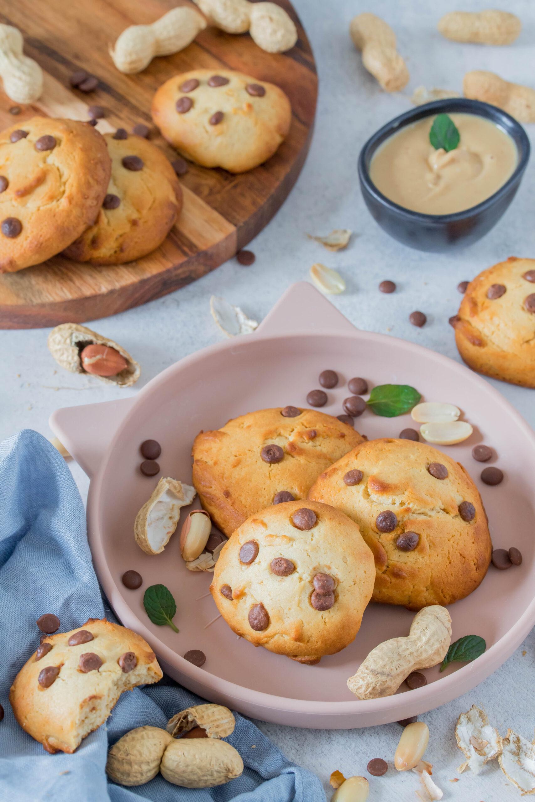 Schnelle, einfache Cookies mit Erdnussmus. Super lecker - schmecken der ganzen Familie.