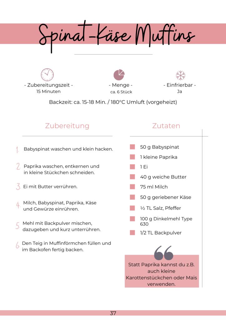 """Gesunde und leckere Rezepte für Kinder: e Book """"Lieblingsrezepte für die Brotdose"""""""